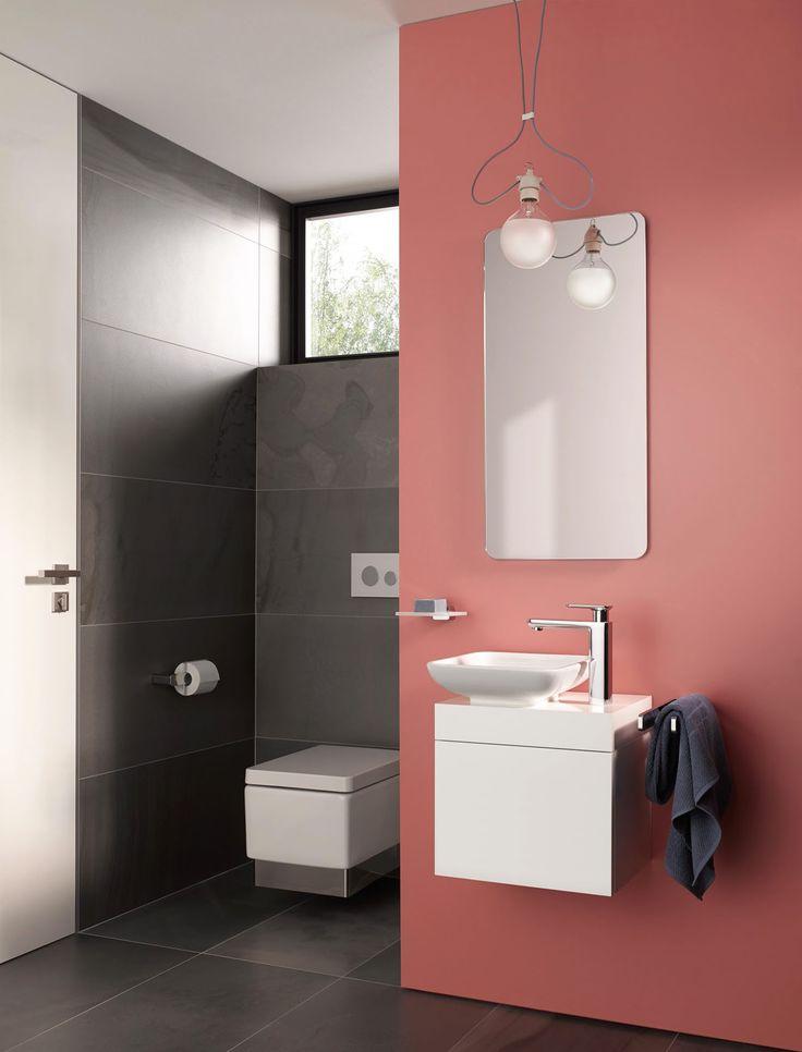 foorni.pl | Mała łazienka z armaturą KLUDI E2