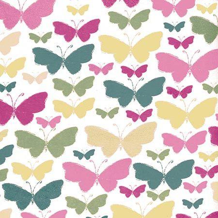 7252 Butterfly Backdrop