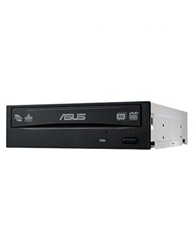 cool ASUS DRW-24D5MT - Grabador de DVD con soporte para discos M (SATA, DVD±R(SL/DL), DVD±RW,DVD-ROM(SL/DL), DVD-RAM, DVD Vídeo, CD-R, CD-RW, Super Audio CD), negro