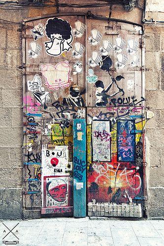 Various Artists // Street Art Barcelona #streetartbarcelona #barcelona #hotelmurmuri