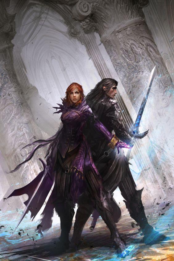 Couple à l'origine de la guilde des héros: