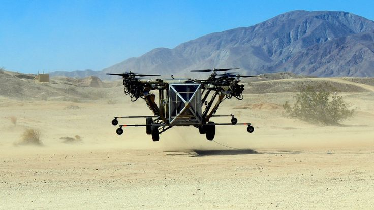 Transformer Hybrid Truck-Helicopter Successfully Makes First Flight -  [Click on Image Or Source on Top to See Full News]