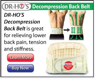 It's great that hoes have their own doctor who has invented this device because they probably do get a lot of lower back pain.