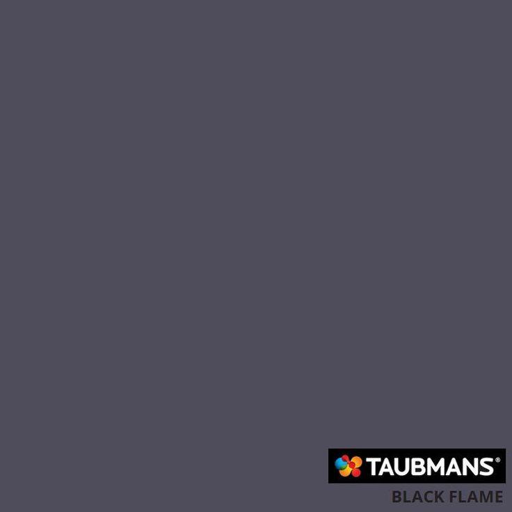 #Taubmanscolour #blackflame