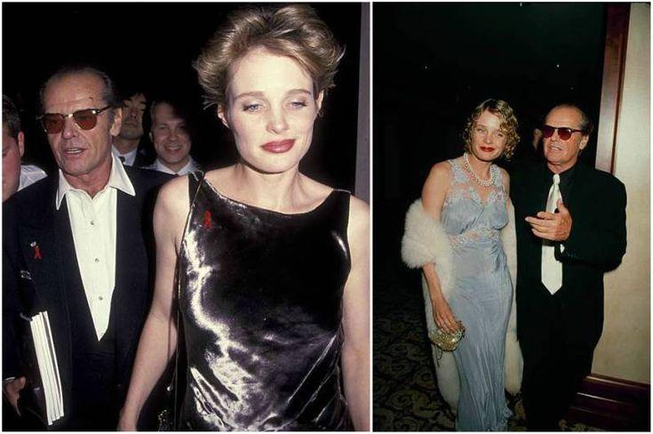 Jack Nicholson's then-partner Rebecca Broussard