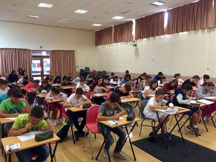 #Irlanda16 Momentos de clase con nuevos compañeros. #ColegiosISP