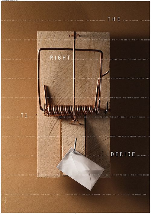 Michał Batory, The Right to Decide exhibition