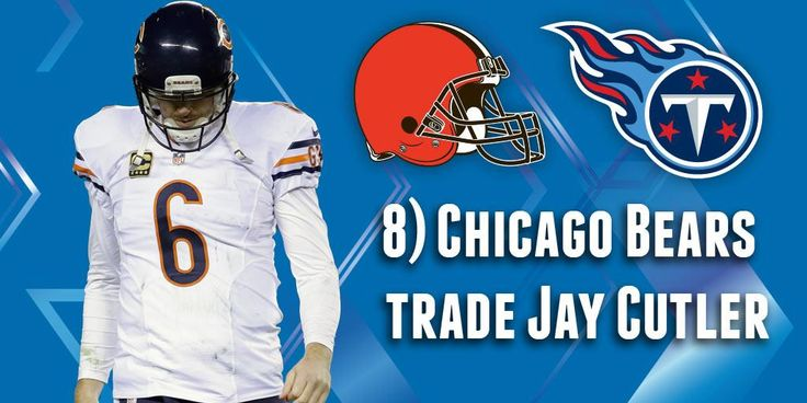 Chicago Bears trade Jay Cutler to...  9 (possible) draft-day trades (via @AdamSchein): http://at.nfl.com/pmGPwwM