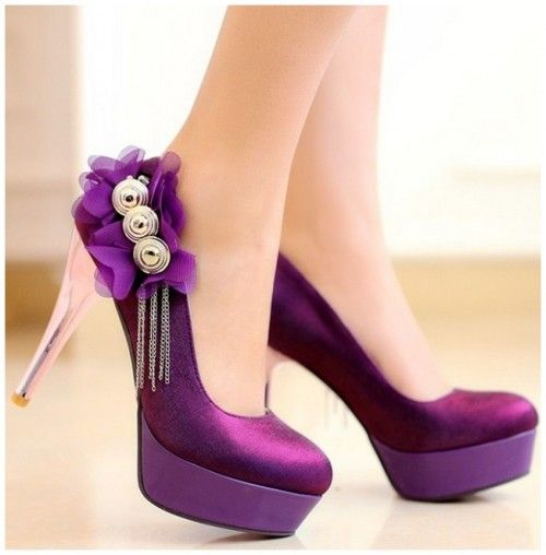 Best Purple Wedding Shoes for Special Wedding