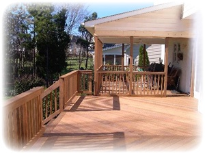 Half covered half uncovered deck outdoor spaces for Uncovered patio ideas