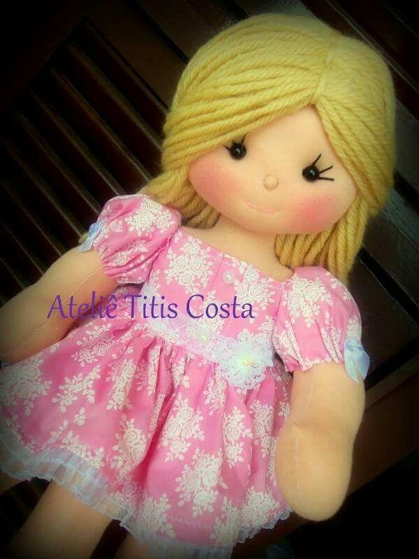 Atelie Titis Costa   Muñecos/Dolls   Pinterest