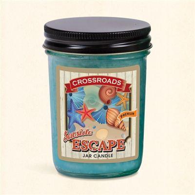Seaside Escape - Half Pint Mason Jar