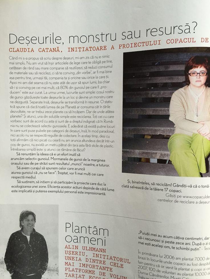 Claudia Catana (Copacul de Hartie), Tabu magazine, Eco issue, April 2008