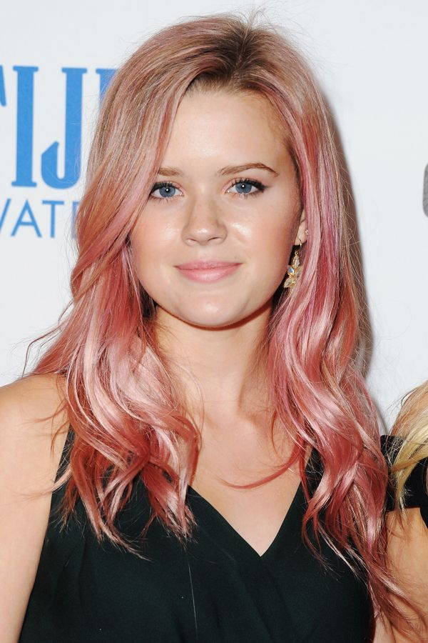 2015's Best Celebrity Hair Color Moments #refinery29  http://www.refinery29.com/celebrity-colorful-hair#slide-2  Ava Elizabeth PhillippeThe daughter of Reese Witherspoon and Ryan Phillippe may be young (16!), but she understands the importance of picking a shade that flatters your complexion. Apparently, so does her colorist....