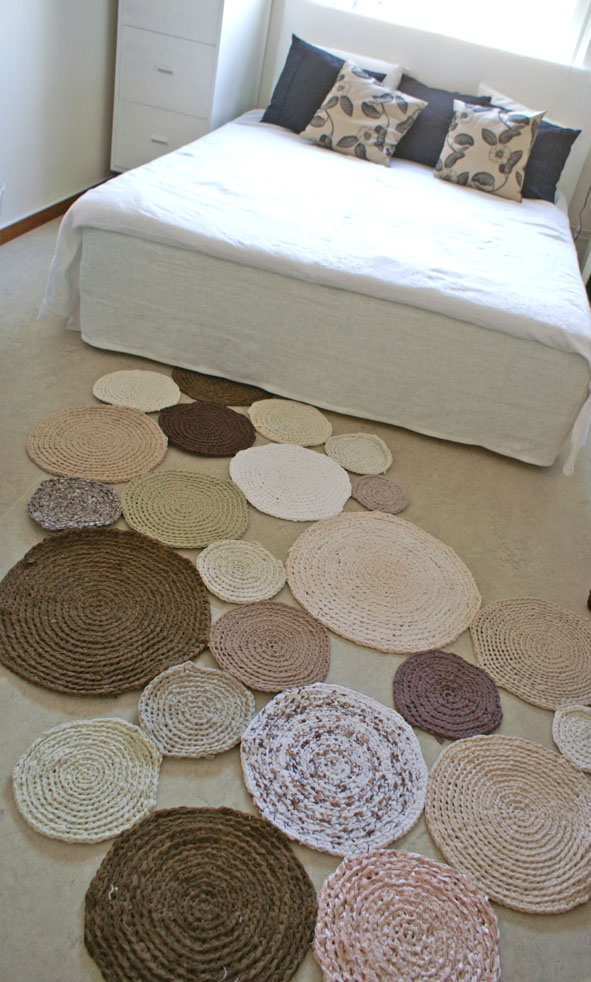 love this rug idea would make with less space in between
