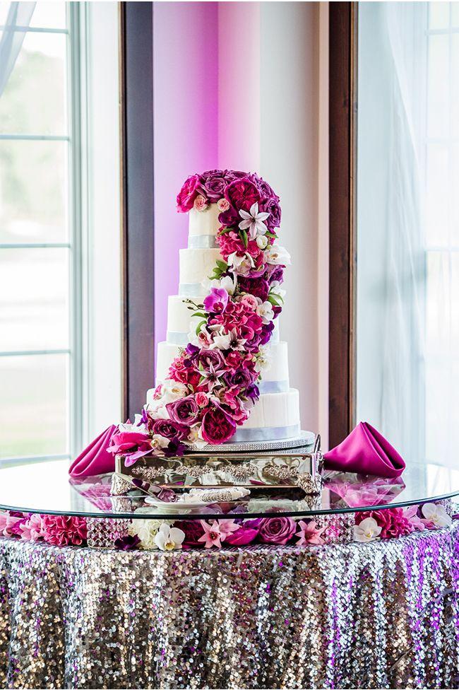 via StyleUnveiled.com / Alimario Photo / Radiant Orchid Real Wedding   ✤ LadyLuxury✤