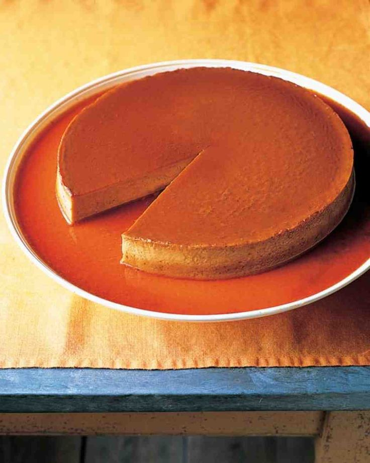 Southwestern Pumpkin Flan