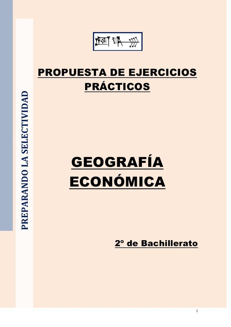 ejercicios-de-geografa-econmica-4406593 by Nicolás Osante via Slideshare