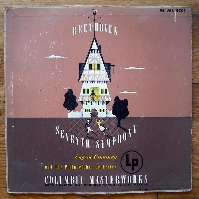 Alex Steinweiss record sleeve design by Scott Lindberg, via Flickr