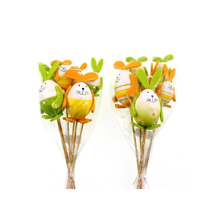 7 best easter gifts images on pinterest easter gift bunnies and order assorted rabbit picks from sagedecor wholesale supplier of quality artificial plants flowers trees negle Image collections