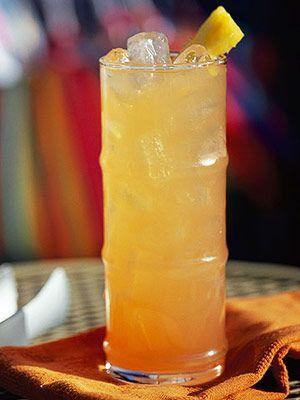 Gumby Slumber (1 1/2 oz pineapple juice  1 1/2 oz cranberry juice  1 1/2 oz orange juice  1 1/2 oz spiced rum   1 1/2 oz coconut-flavored rum )