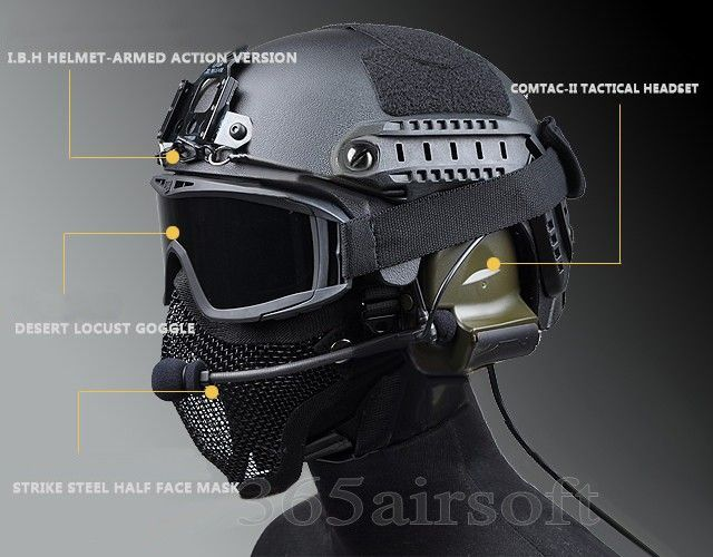Airsoft tactical helmet- great for the apocalypse