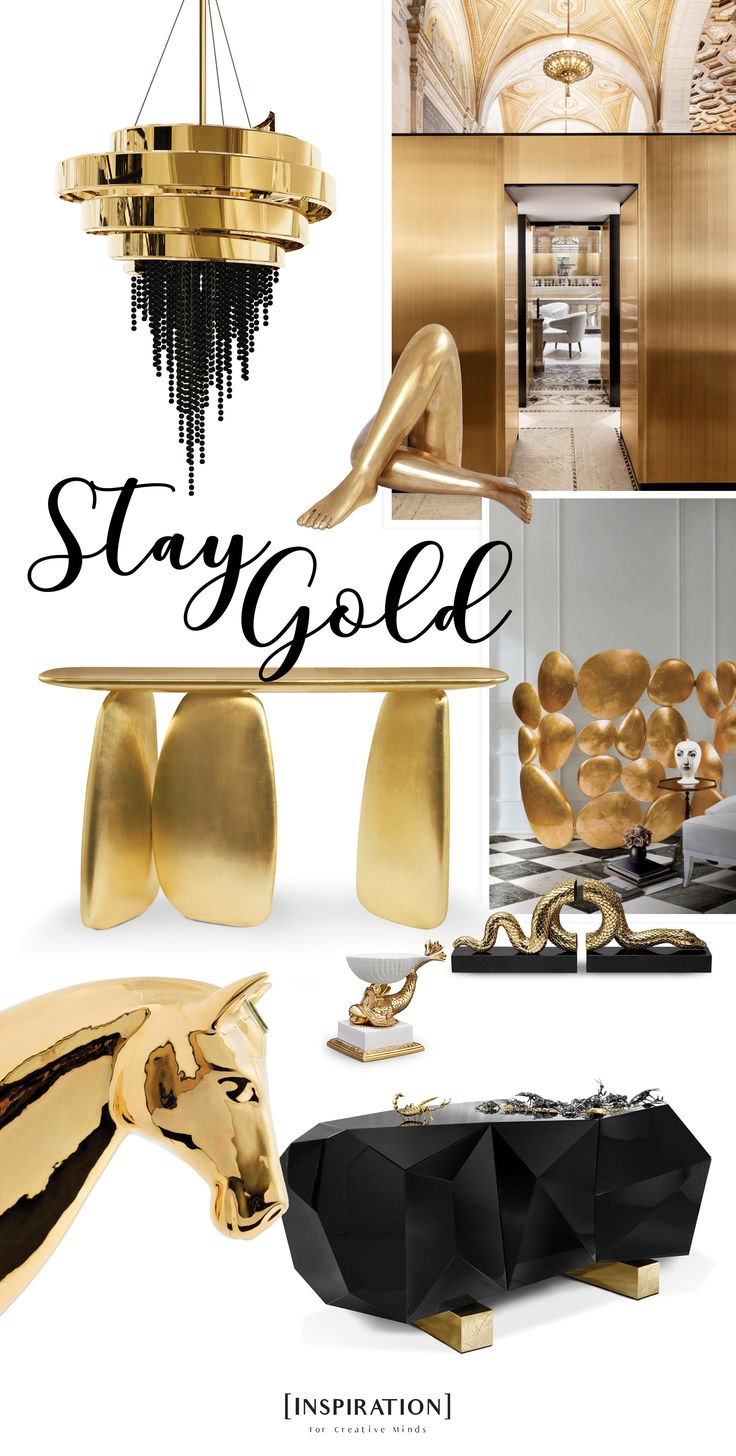 ''Stay GOLD'' Boca do Lobo, Brabbu, Koket, Luxxu.