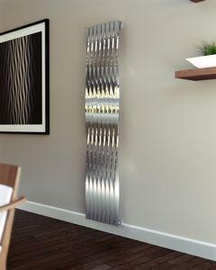 ESSA design radiatoren Design radiatoren met een draai, verticale rvs ...
