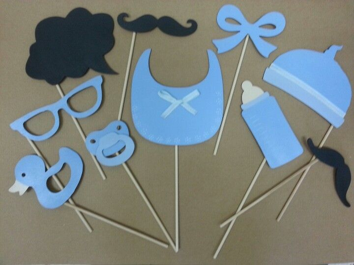 baby shower photo booth props baker showers baby pop baby shower
