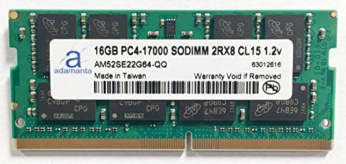 Adamanta 16GB 1x16GB Laptop Memory Upgrade for MSi GE72 6QF 029US Apache Pro DDR4 2133 PC417000 SODIMM 2Rx8 CL15 12v Notebook RAM >>> Continue to the product at the image link.