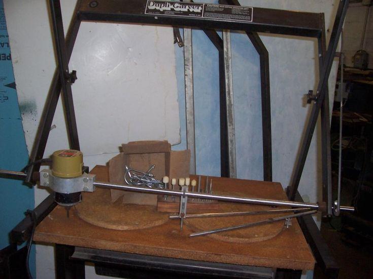 Fs Terrco Dupli Carver Carving Machine W Gunstock