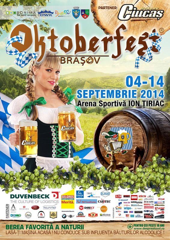 Incep pregatirile pentru Oktoberfest Romania 2014!