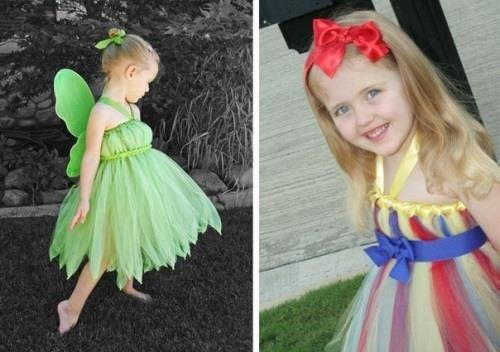 Фото маленьких девочек в костюме из фатина