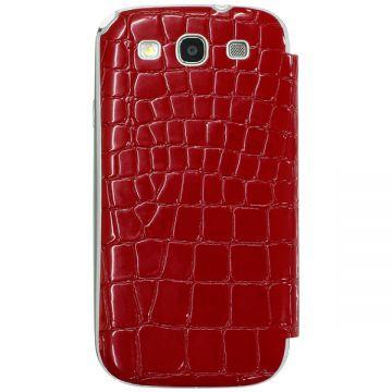 Husa Anymode Me-In Mirror Croco Rosie Galaxy S3