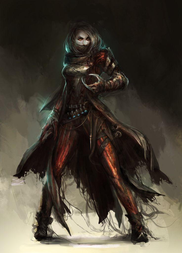 ArtStation - Shattered: Vampire, Daniel Kamarudin