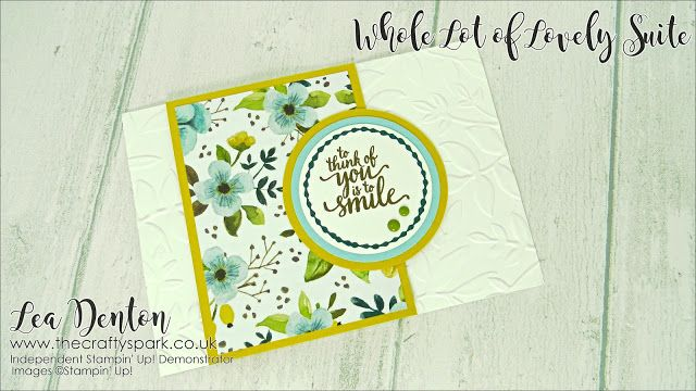 Click the image to visit my blog for lots more crafty inspiration from Lea Denton, The Crafty Spark Super Cute Cards With A Whole Lot Of Lovely