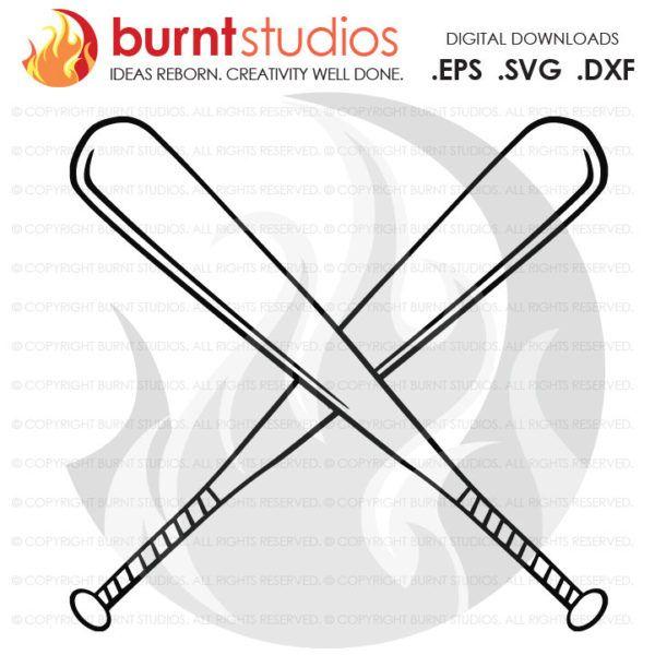 Download Digital File, Baseball, Bats, Softball, T-Ball, MLB, Let's ...