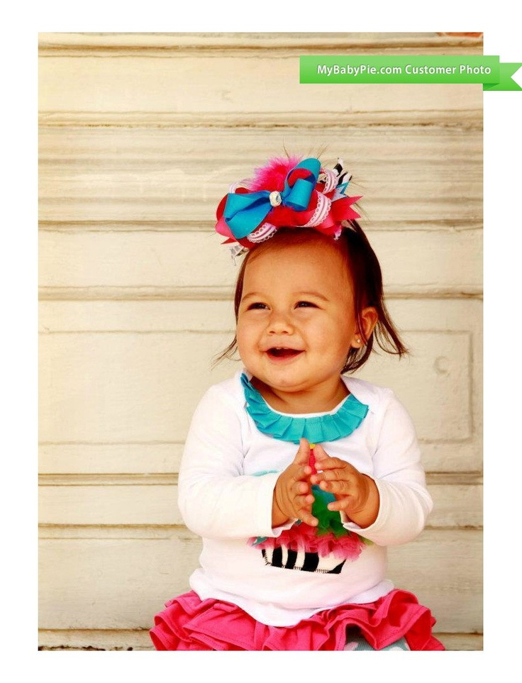 Wild Child Zebra Print Cupcake Skirt Set at MyBabyPie.com