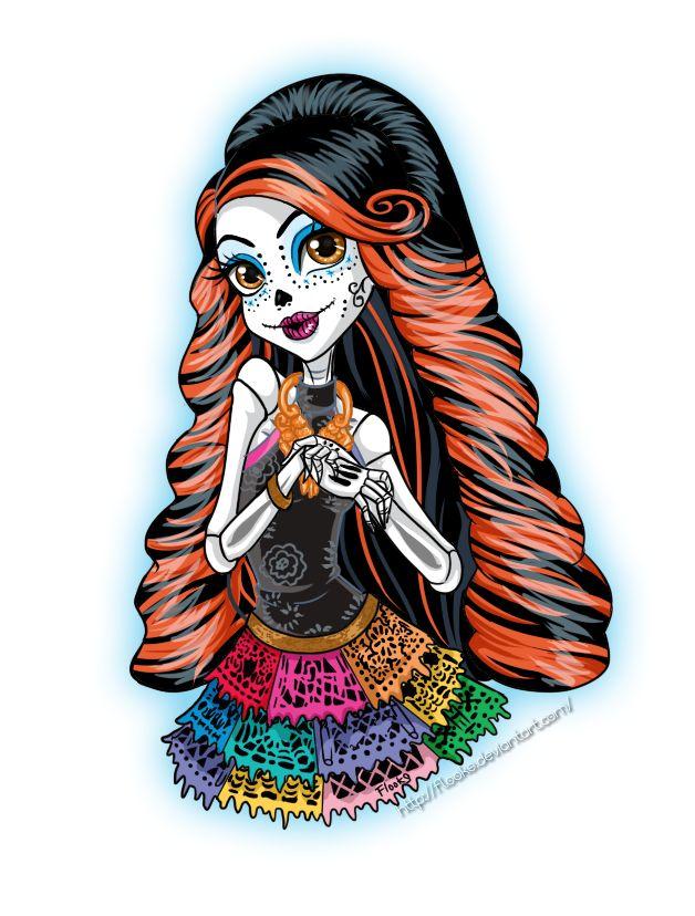 Monster HIgh : Skelita Calaveras by Flooks.deviantart.com on @deviantART