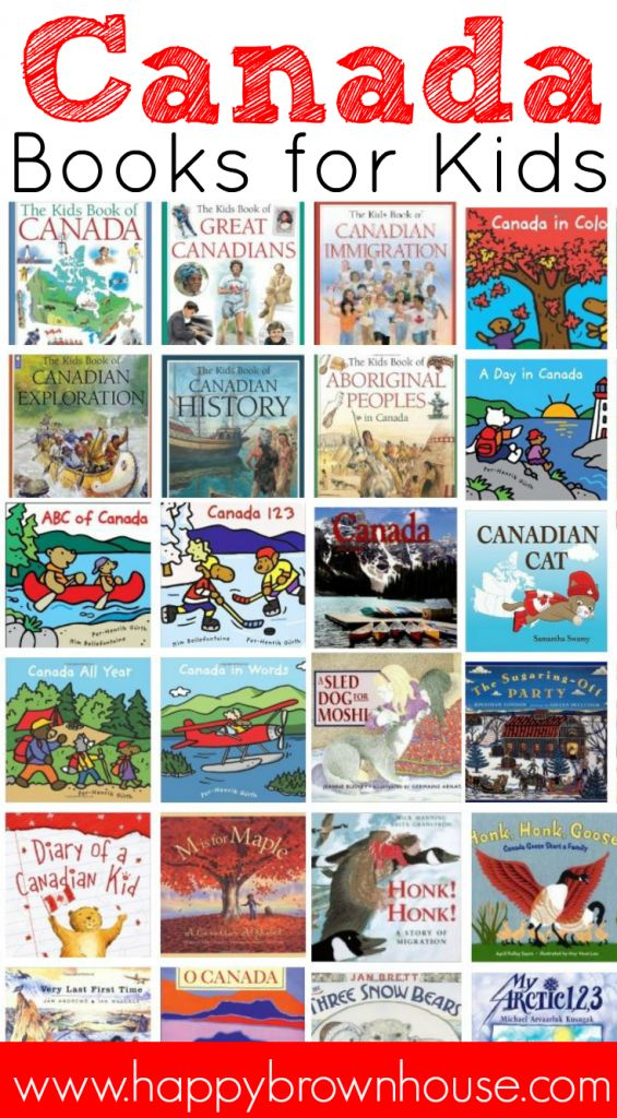 This list of Canada Books for Kids is perfect for helping you study Canada, geography, and other cultures in your classroom or homeschool.