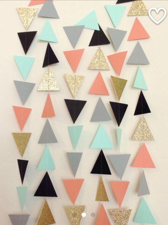 Triangle DIY Garland