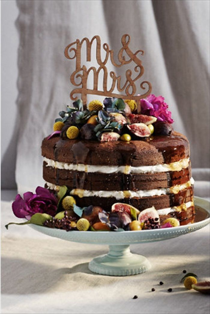【楽天市場】あす楽!【ウェディング】 ケーキトッパー MR&MRS 【ケーキ用飾り】 ウェディング ケーキバイトの演出に:リトルレモネード楽天市場店