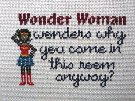 21 besten WonderWoman Bilder auf Pinterest | Kreuzstich ...