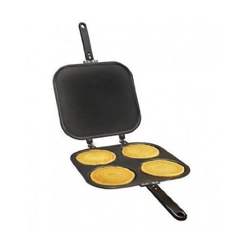 Pancake Pan Non Stick Pan Flip Perfect Breakfast Maker Eggs Omelette Flipjack  #Allstar