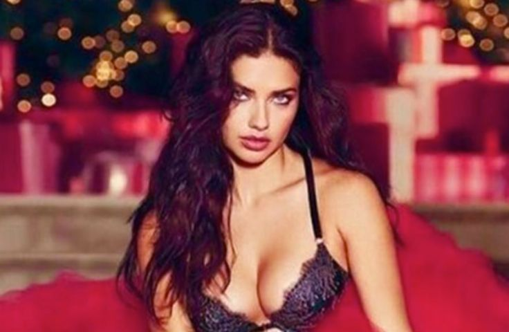 ADRIANA LIMA HAS A SEXY VALENTINE'S DAY SURPRISE FOR YOU