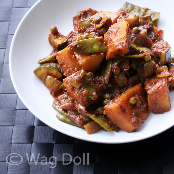 Wag Doll: Easy Vegetable Curry Recipe - Eating Clean & Looking Lean