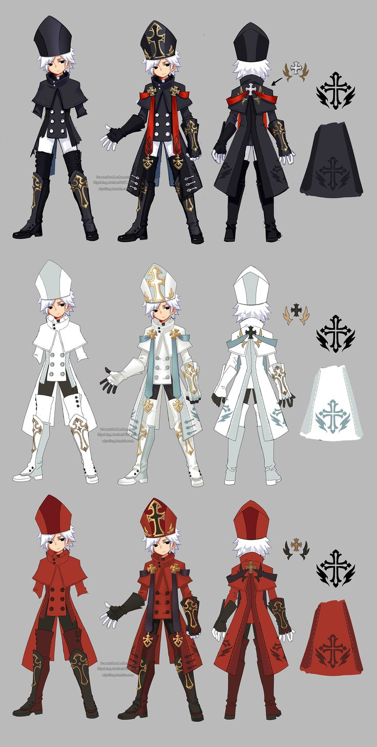 Dragon nest priest cleric by ZiyoLing.deviantart.com on @DeviantArt