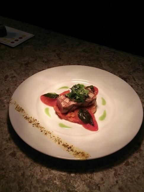 Grilled Sulawesi Blue Fin Tuna