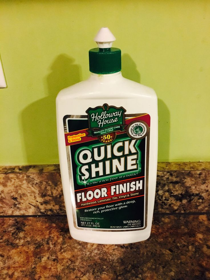One simple step to make your laminate floors shine like for How to make your floor shiny