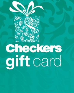 Checkers Gift Card - Can't decide on the perfect gift? Makes for perfect corporate gifts or staff rewards.